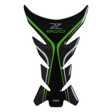 fasp z900 genuine carbon fiber tank pad sticker for kawasaki motorcycle sports car