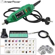 Mini Bohrer 180W Stecher Dremel Mini DIY Bohrer Maschine Gravur Stift Grinder Mini Elektrische DIY Bohrer Dreh Werkzeug Polieren schleifen