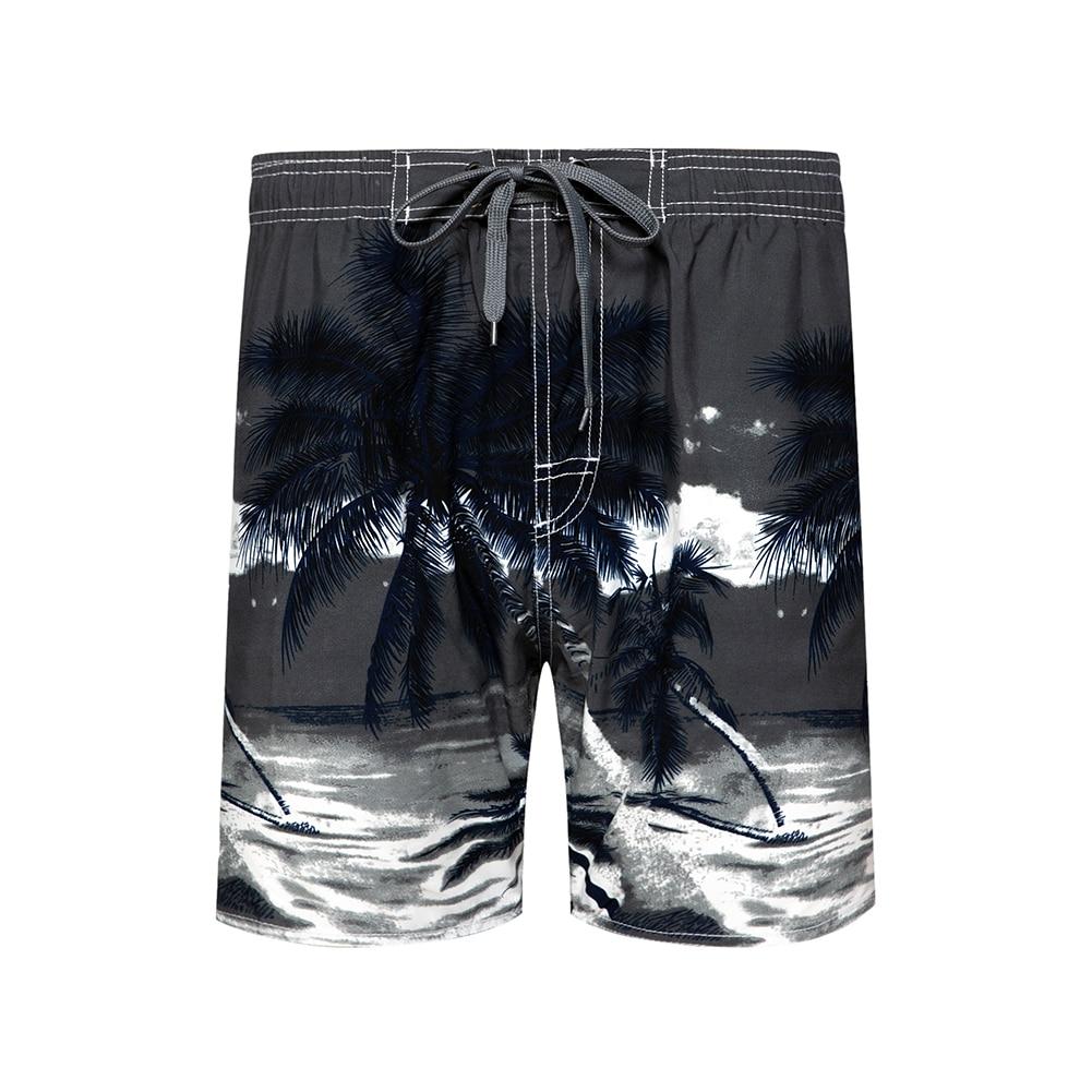 Woodvoice Brand Mens Beach Pants Quick-drying Pants Man Shorts Plus Size Pants New Casual Leisure 3D Digital Printing Shorts Men