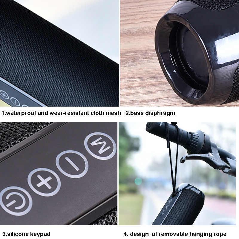 TG117 głośnik Bluetooth przenośny głośnik muzyka Bluetooth HIFI Soundbar z subwooferem do komputera PC Smartphone