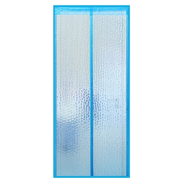 magnetic thermal insulated door curtain for air conditioner home kitchen magnetic screen anti mosquito door