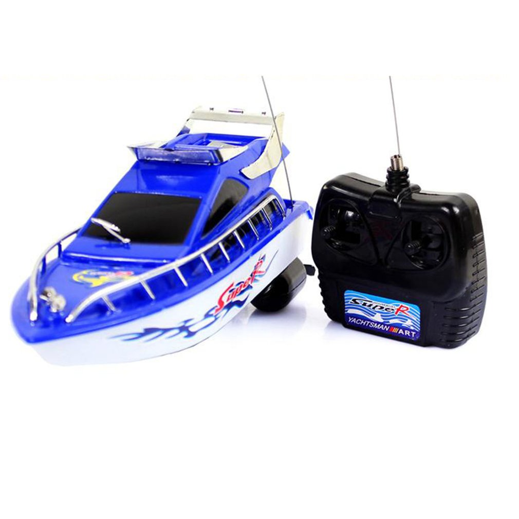 RC Speedboat Super Mini Electric Remote Control High Speed Boat Ship 4-CH RC Boat Game Toys Birthday Gift Kid Children Toys Gift