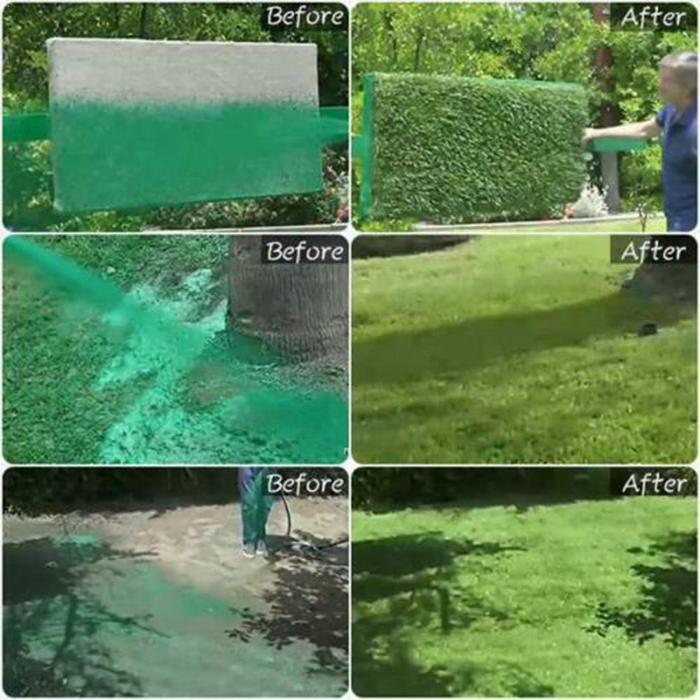 Liquid Spray Gun Lawn Sprinkler Plastic Seed Spraying Dropshiping Seed Kettle Shipping Fast Spray (hotsaletools) O4W2