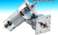 Cinda 775 reducer 12V micro small motor 35W high torque speed motor 24V slow speed DC motor