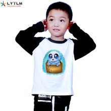 LYTLM Undertale Peuter Jongens Lange Mouwen Winter Tops Modale Anime Tshirt Kids Cartoon T-shirt voor Kids Jack Skellington Meisjes top(China)