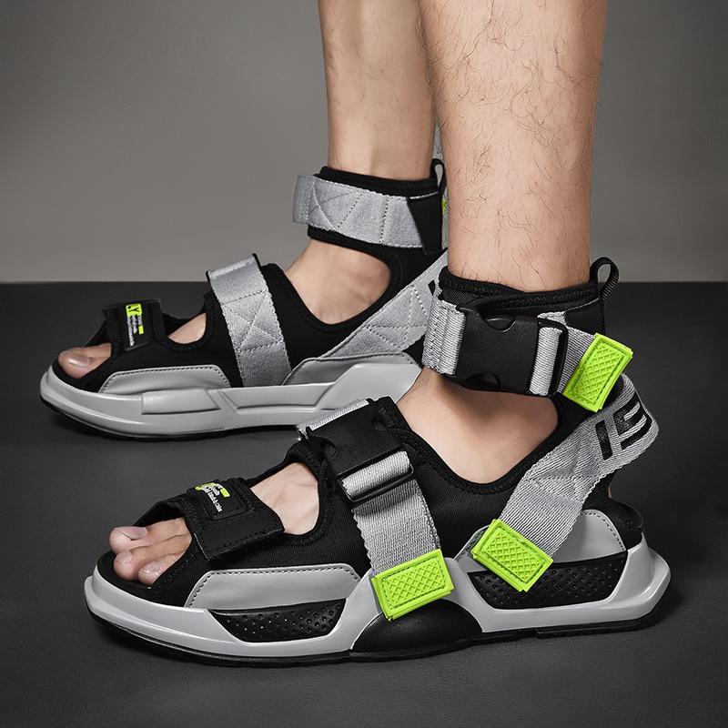 Vogue High Quality SNew York Show Fashion Sandals Light Outdoor Non-slip Men Shoes Leisure Shoes Pop Tide Trend Men Sandals 55