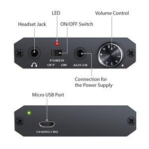 Image 2 - PROZOR المحمولة مضخم ضوت سماعات الأذن HiFi سماعة مضخم الصوت USB Rechargeble 3.5 مللي متر ل AUX المدخلات إخراج سماعة رأس صغيرة أمبير