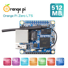 Orange Pi Zero LTS 512MB H2+ Quad Core Open-Source Mini Board,Support 100M Ethernet Port and Wifi(China)