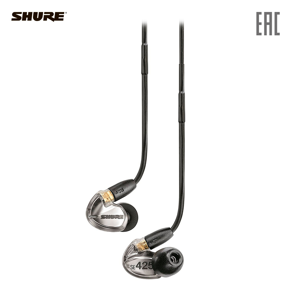 Earphones & Headphones SHURE SE425-V+BT1-EFS Consumer Electronics Portable Audio Earphone Headphone headset for phone computer shure se425 se425 v bt1 ef