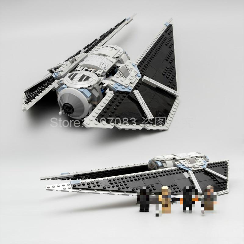 In Stock 05048 Star Wars Street The TIE Striker Model Building Blocks 543pcs Bricks Kids Toys Compatible Star Wars 75154