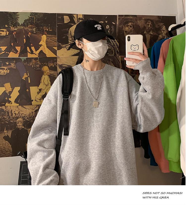 Hb6b640334ae8413fbf523ba2cb39302d7 loose Korean style plus size sweatshirt winter clothes streetwear women 2020 new fashion plus velvet oversize harajuku hoodie