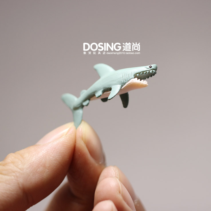 Shark Oceans Fish Small Animal Model Landscape Accessories Decoration Figurine Action Figures Scene Material Kids Toys