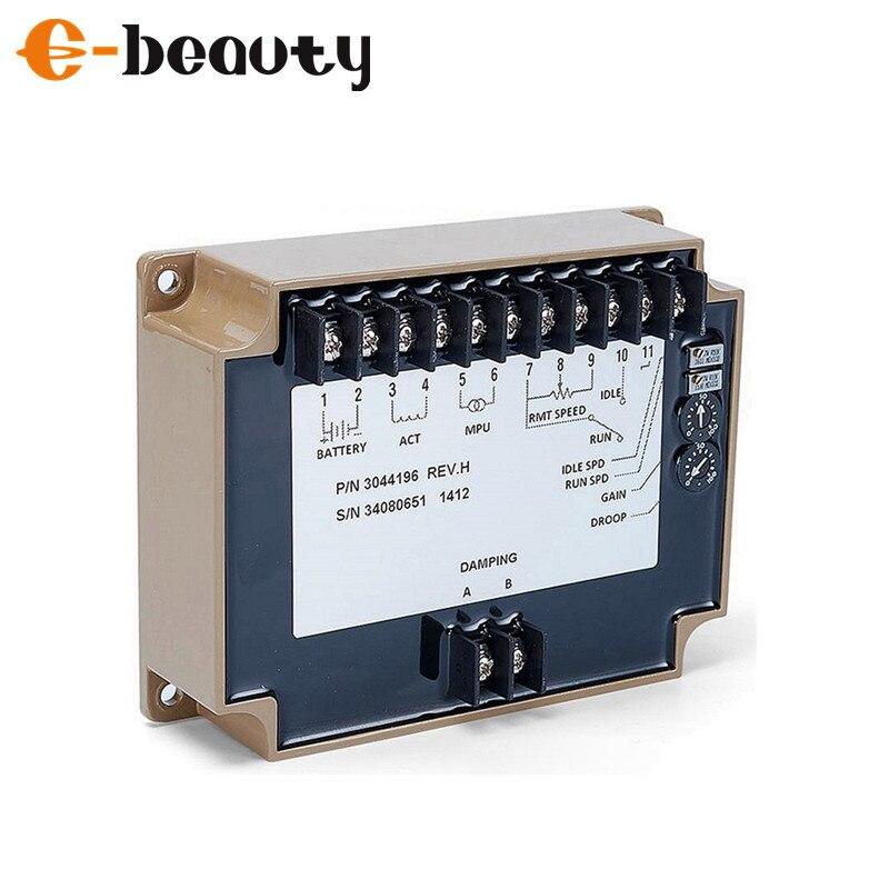Gerador diesel peças regulador de velocidade eletrônico