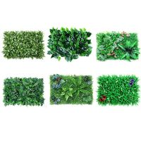 4pack Artificial Garden Plants Wall/Artificial Wall Panels for Decor 16X24inchs X4YD