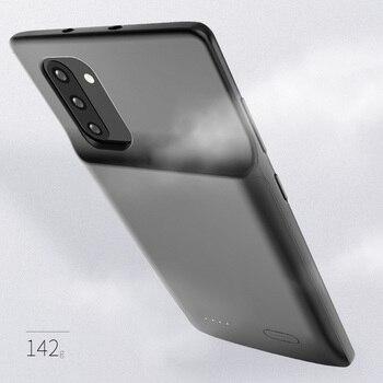 5200/6000 мАч Тонкий чехол для Samsung Galaxy Note 10 Plus, чехол для внешнего аккумулятора, чехол для Samsung Note 10