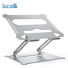 2021 New Portable Foldable Lifting Heat Dissipation Aluminum Alloy Notebook Computer Stand Universal Adjustable Storage Stand
