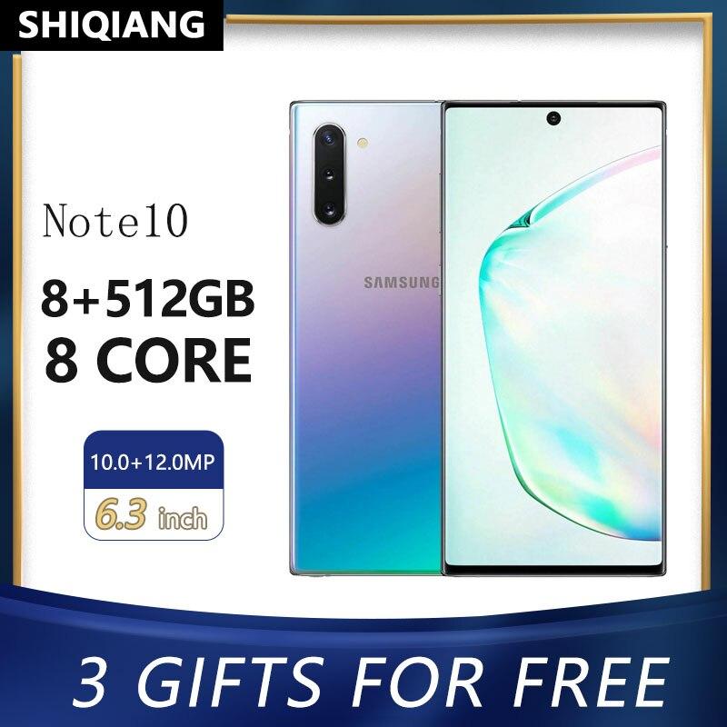 "Se Original Samsung Galaxy Note10 + N10 plus desbloquear teléfonos inteligentes Android 12GB de RAM 256/512GB ROM 6,8 ""Octa Core teléfonos móviles NFC"