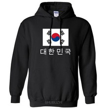 South Korea hoodies men sweatshirt sweat new streetwear socceres jerseyes footballer tracksuit nation Korean flag fleece KR(China)