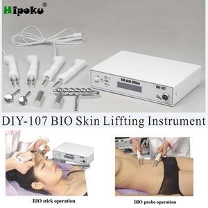 Image 1 - バイオ微少電気刺激顔締めリフティングしわの除去顔ボディレッグ腹マッサージスキンケア装置