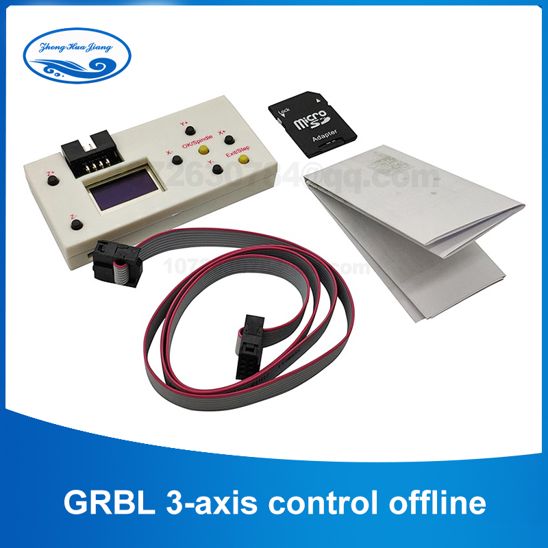 GRBL 3-axis CNC Control Board Laser Engraving Machine Stepper Motor ER11 Spindle Motor V3.3-150W For DIY Engraving Machine