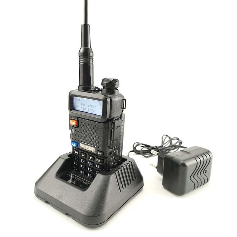 band digital 2pcs Baofeng DM-5R Walkie Talkie Tier1 & 2 DMR Radio Digital Analog Dual Mode Dual Time Slot Dual Band Walky Talky Professional (5)