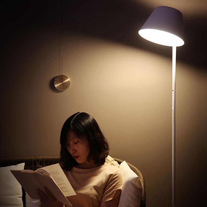 Xiaomi mijia yeelight ylld01yl 12 w inteligente pode ser escurecido conduziu a lâmpada de assoalho mesa pé luz wifi controle app casa escritório AC100 240V - 5