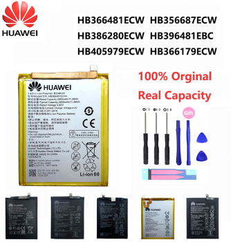 Orginal Huawei P9 P10 Honor 8 9 Lite 9i 5C HB366481ECW Enjoy Nova Mate 2 2i 3i 5A 5X 7A 7X G7 G8 G10 Plus Pro SE Phone Battery