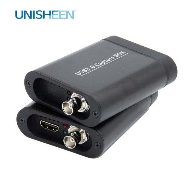 USB3.0 60FPS SDI HDMI wideo pudełko do przechwytywania FPGA Grabber klucz gry na żywo strumień transmisji 1080P OBS vMix Wirecast xsplit