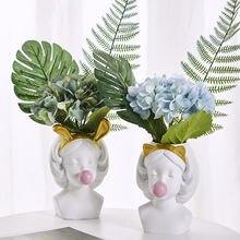 Полимерный горшок садовая Цветочная ваза за для суккулентов