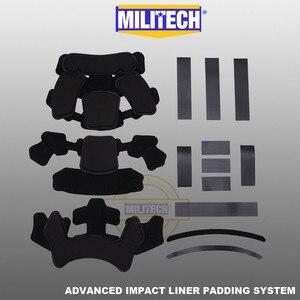 Image 4 - MILITECH Stack Gebouwd Geavanceerde Impact Liner Padding Systeem Voor Flux/SNEL/MICH/OPS Core/ACH /MTEK/PASGT Ballistische Helm
