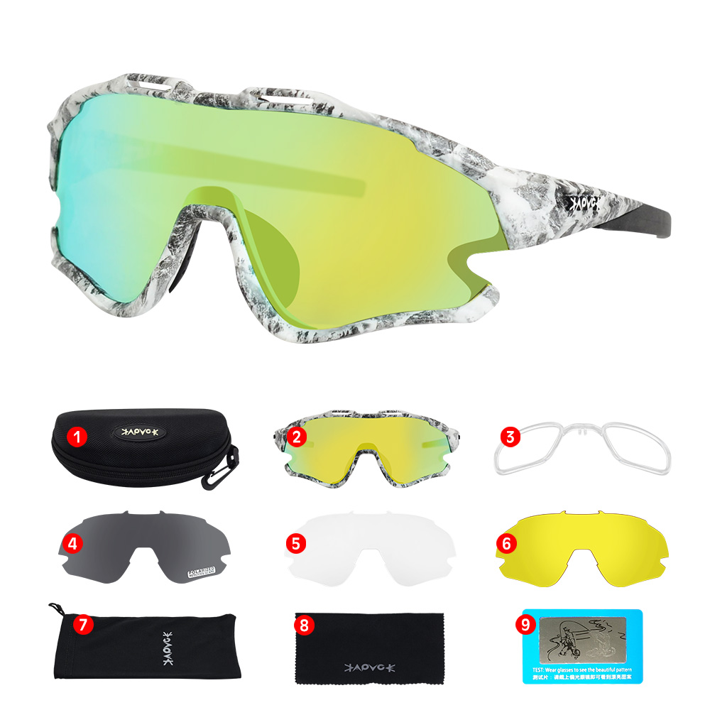 Cycling Sunglasses Professional Polarized Cycling Glasses MTB Road Bike Sport Sunglasses Bike Eyewear UV400 Bicycle Goggles 20