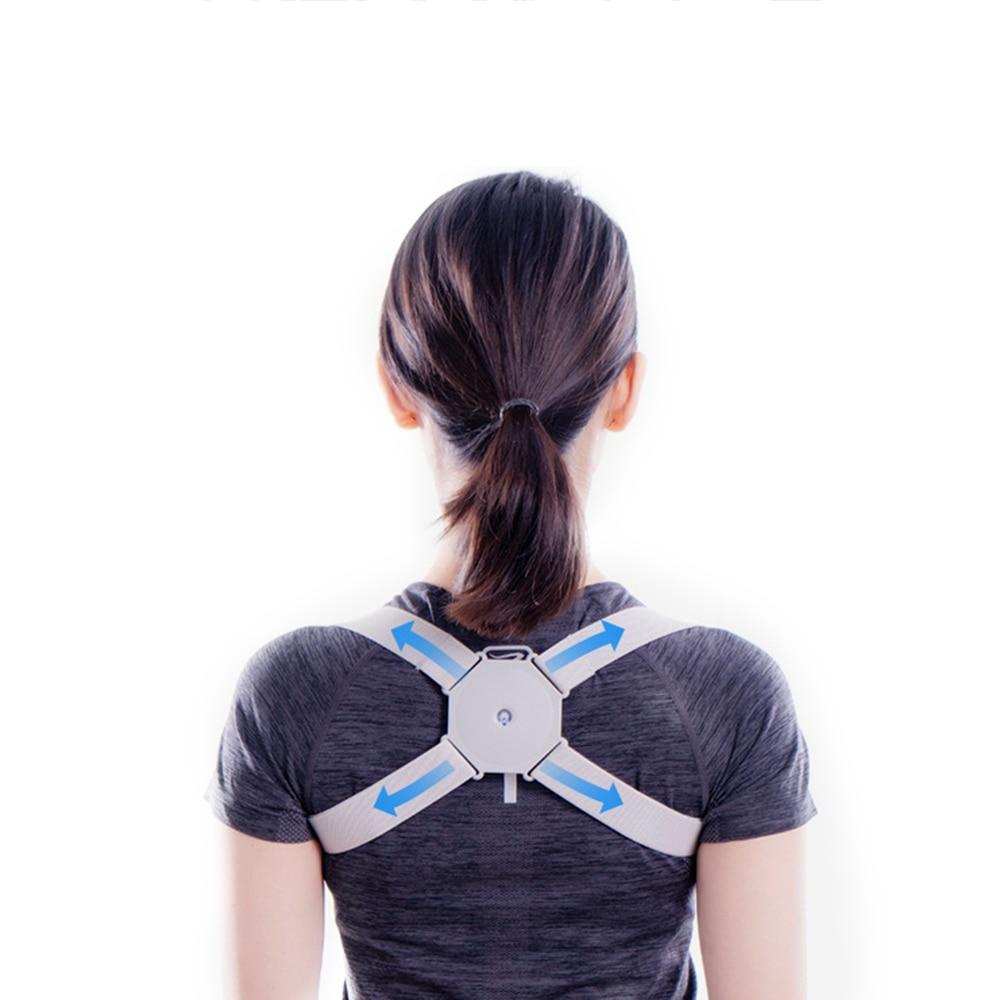 Smart Back Brace Posture Corrector Intelligent Inductive Adult Child Artifact Hunchback Correction Belt Office Sport Fitness
