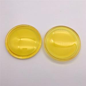 2pcs/lot Round Diameter 90mm Fog Lights Anti-fog Glass Tempered Glass yellow For Subaru WRX BRZ XV Outback Legacy Justy III WRX