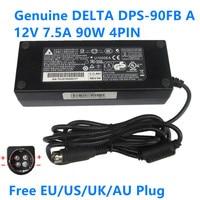 Genuino DPS-90FB 12V 7.5A 90W 4PIN ADP-96W adaptador de CA para Synology DJ416j Netgear NAS RN10400 16TB dispositivo cargador de fuente de alimentación