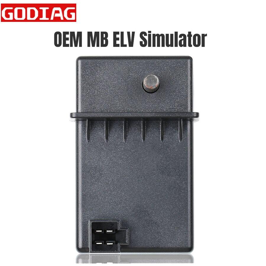 OEM MB ELV Simulator для Benz 204 207 212 Для MB Benz key Programmer для CGDI MB Programmer и VVDI MB BGA Tool