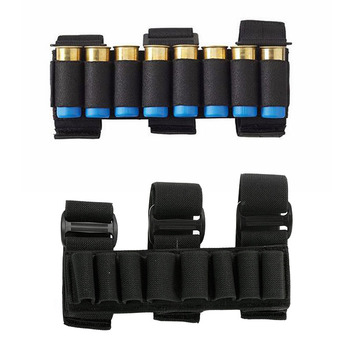 Military 8 Rounds Ammo Bags Shells Reload Arm Band 12 Gauge Bullet Carrier Holder Mag Cartridge Pouch Hunting Accessories 6