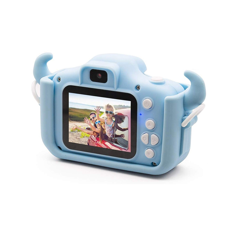 1080P HD Kids Digital Camera Dual Lens 20.0MP Toddler Cameras Video Recorder With 32G TF Card Camera Toys Gifts For Children