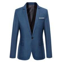 Синий мужские блейзеры работа офис 2019 мужские смокинги для формальных случаев карманы пальто блейзеры мужские на заказ мужские% 27 бизнес тонкие блейзеры