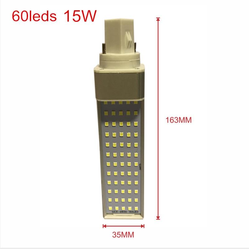 G24 60leds Size 15W