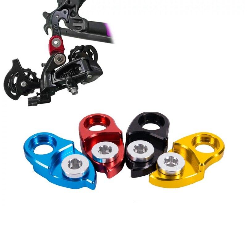 US MTB Road Bike Rear Extender Gear Adapter//Conversion Derailleur Hanger Black