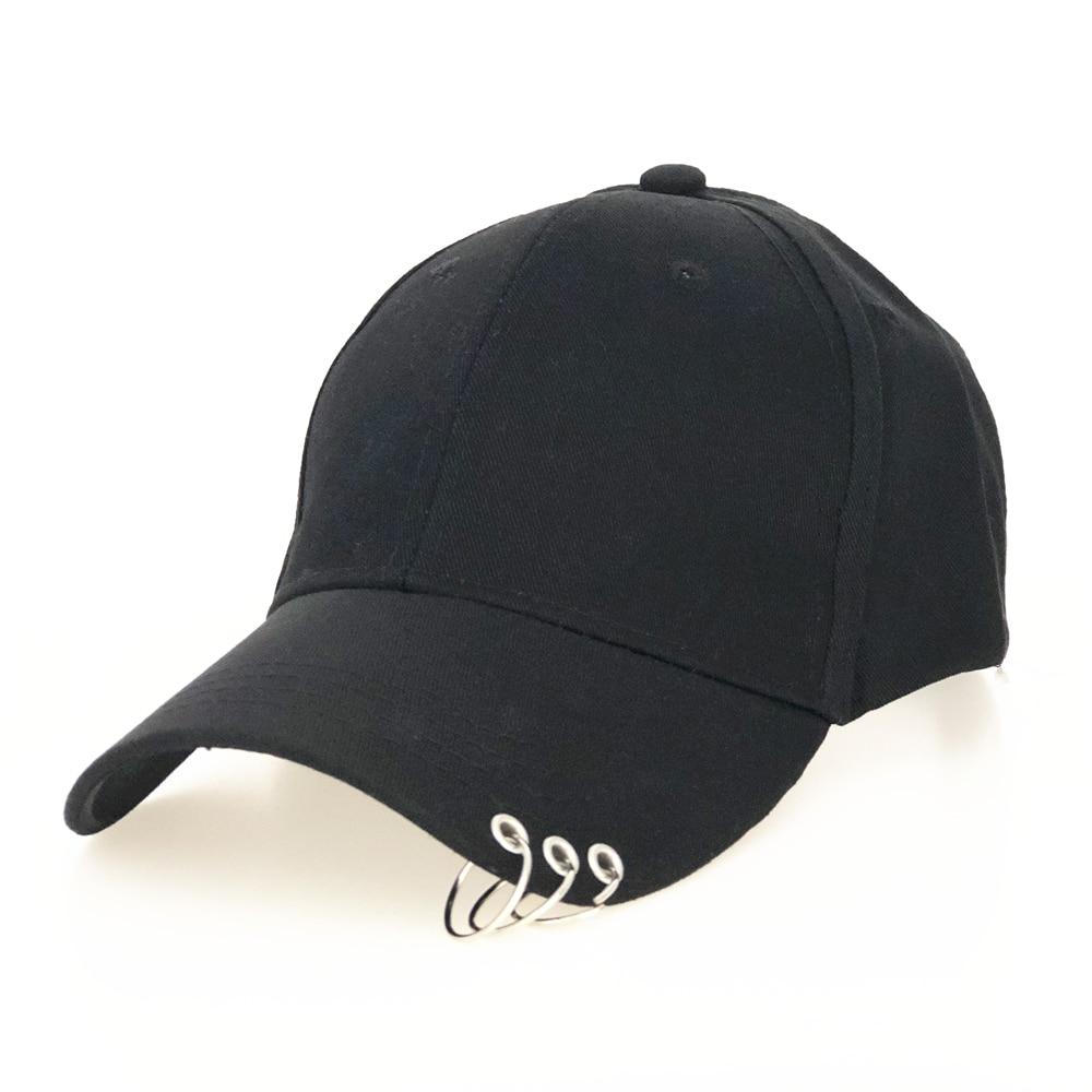 Sombrero de béisbol ajustable con anillo para hombre y mujer, gorra de béisbol ajustable de alta calidad, con anillo, para deportes al aire libre, Snapback, unisex