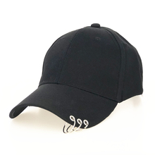Baseball-Hat Ring Sun-Cap Outdoor-Sports Fashion Women High-Quality Adjustable with