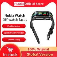 Nubia-reloj inteligente versión Global, Original, 4,01