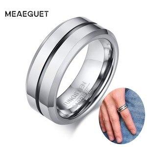 Tungsten Wedding Bands Men Rin
