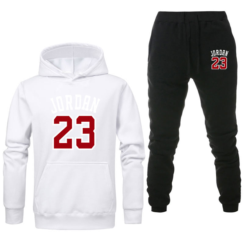 2020 fashion brand Mens Set Fleece Hoodie Pant Thick Warm Tracksuit Sportswear Hoodeds Track Suits Male Sweatsuit Tracksuit
