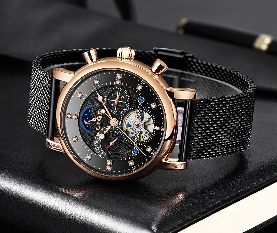 Hb6b97e30f97e453e876f2938db7862a8i LIGE Gift Mens Watches Brand Luxury Fashion Tourbillon Automatic Mechanical Watch Men Stainless Steel watch Relogio Masculino
