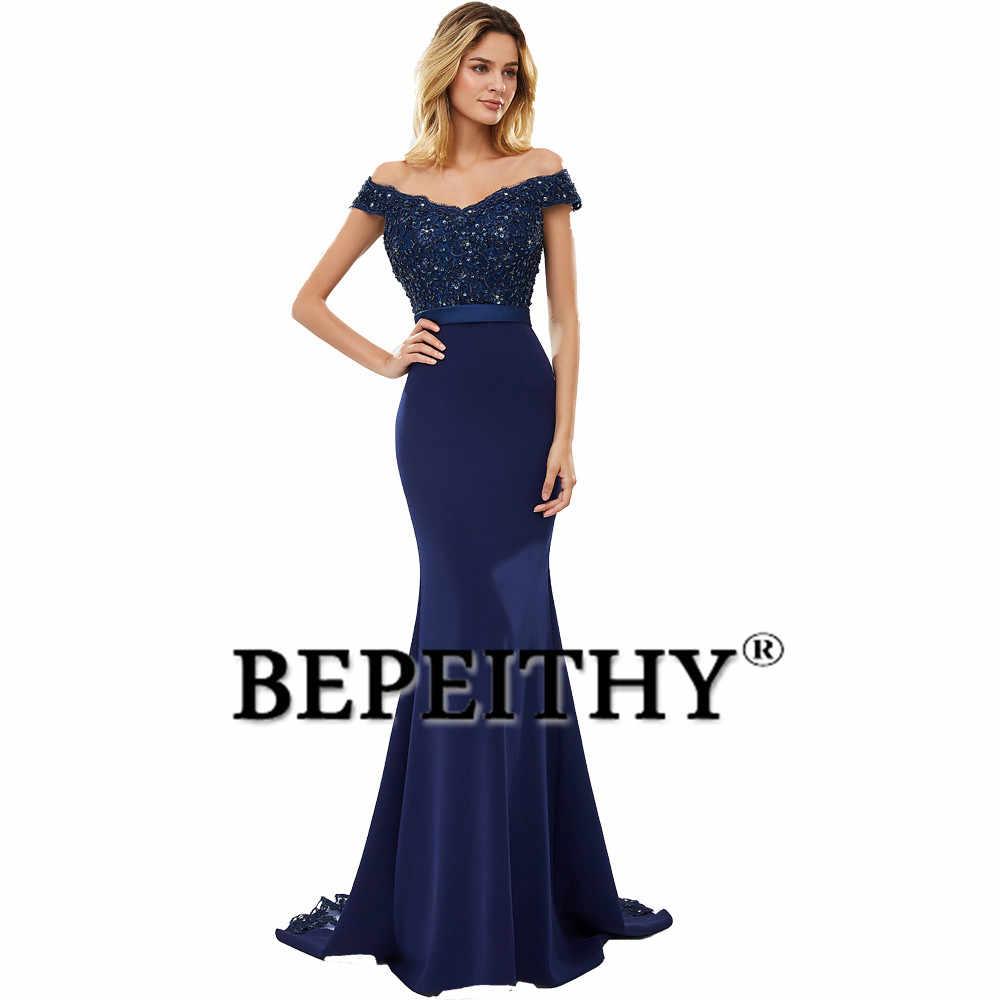 BEPEITHY szata De Soiree syrenka Burgundry długa suknia Party elegancka Vestido De Festa długa suknia balowa 2020 z paskiem