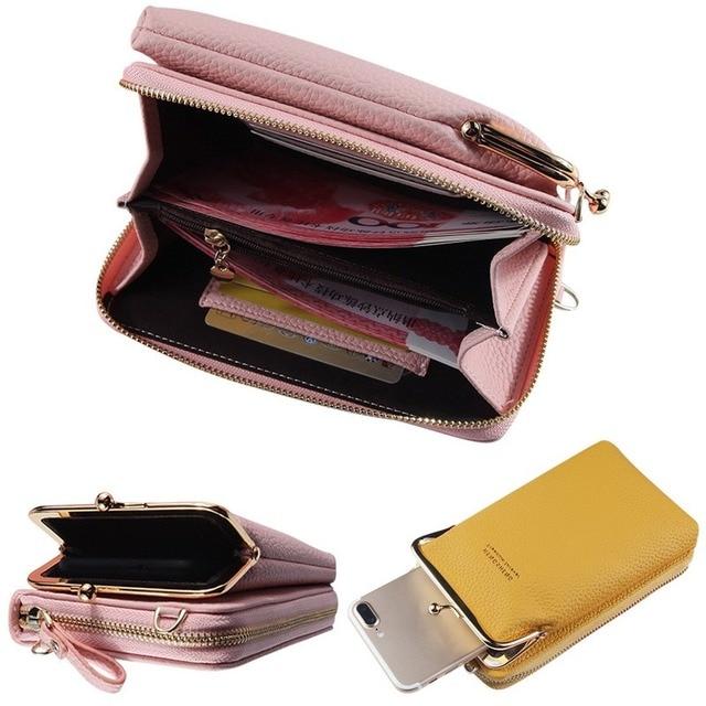 HOT Fashion Small Crossbody Bags Women Mini Matte Leather Shoulder Messenger Bag Clutch Bolsas Ladies Phone bag Purse Handbag 5
