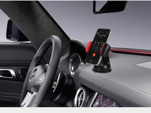 Easy Mount 360 Degrees Rotatable Strong Suction Cup Car Phone Holder for iPhone, Samsung Phone, Universal Phone