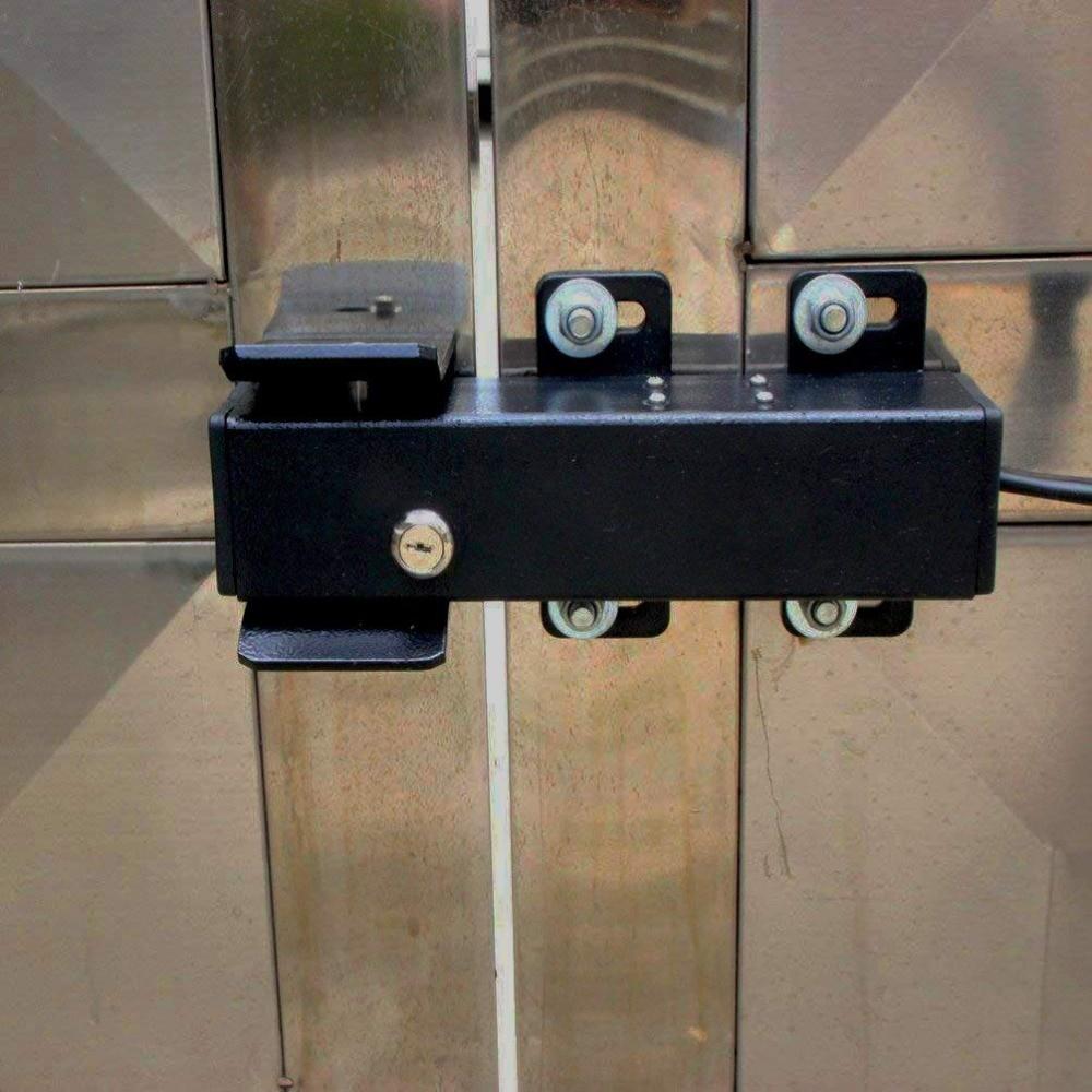 Outdoor Waterproof Electrical 12V 24V DC Automatic Swing Gate Electric Lock For Aleko Swing Gate Opener Motor